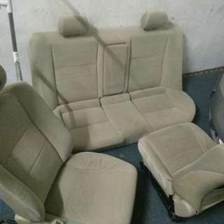 Set seat standart baldu civic fd1 fd 1.8 siap basuh utk diju
