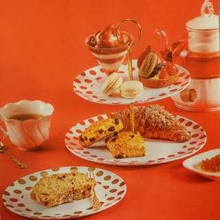 Tsumori Chisato x elle high tea set 英式茶點架