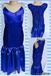 Pia Blue gown