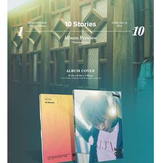 [PRE-ORDER] :  KIM SUNG KYU (INFINITE) 1ST ALBUM - 10 STORIES