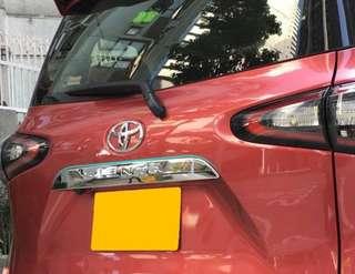Toyota Sienta Rear Door Trimming (1 Pcs)