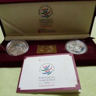 1996 $5 Coin Set -  Ministerial Conference