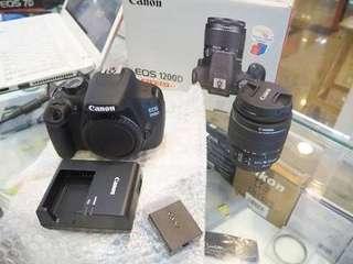 Kamera canon dslr 1200d