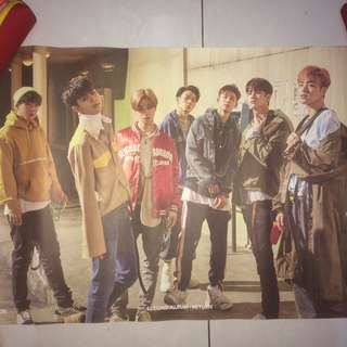 IKON POSTER (RETURN RED ALBUM)