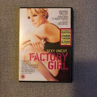 Sienna Miller Factory Girl Movie DVD