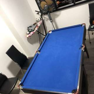 6FT pool table for sale.