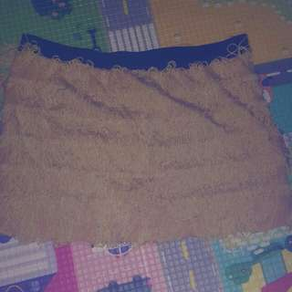 Rok celana rumbai