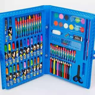 Painting set for kids (mickey mouse edition)
