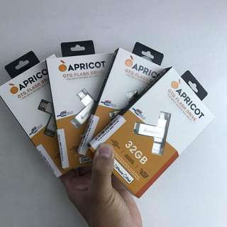 "Apricot OTG 16gb,32gb and 64gb for Iphone Ipad and Itouch ""We guaranteed fast easy and secured transaction with us"""