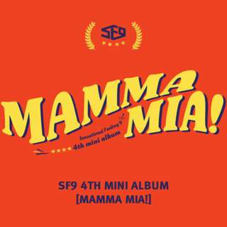 [PRE-ORDER] : SF9 - MAMMA MIA (THE 4TH MINI ALBUM)