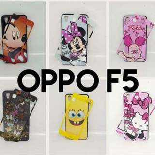 Oppo F5 Housing Mobile Case with tempered glass