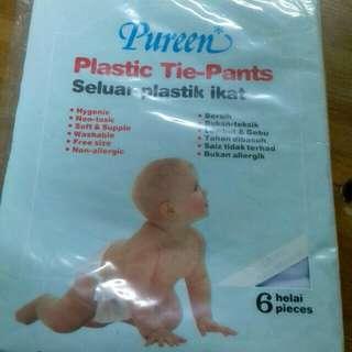 PUREEN Baby Plastic Tie Pants #Bajet20