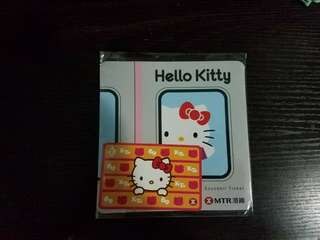Hello Kitty紀念車票