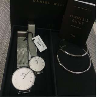 Daniel Wellington Couple with bracelet