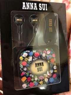 ANNA SUI經典蝴蝶耳機套裝