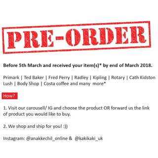 Special pre-order now open :)) ETA end of March 2018