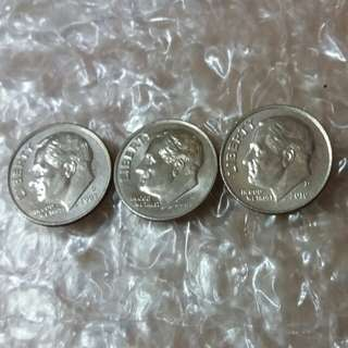 USA One Dime Coin