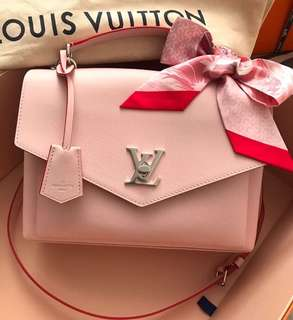 全新爆款🔥LV My lockme 粉色handle bag💓💓