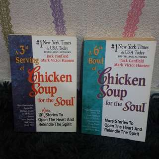 50rb for 2 Chicken Soup!