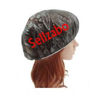 🆕15 Pcs Black Disposable Shower Bathing Dry Hair Heads Hats Sellzabo Waterproof Treatment Mask Dispose Cover Caps