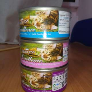 Princess premium excellence cat food
