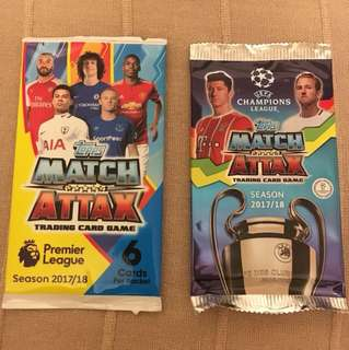 FREE: Match Attax Cards - United Square Event 2018