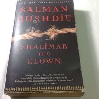 SALMAN RUSHDIE - SHALIMAR the CLOWN
