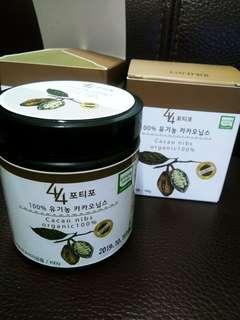 韓國有機可可粒organic cacao nibs 100g (可用於烘焙,加上乳酪上食用)