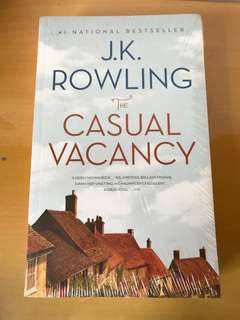 Harry Potter作家新書 - Casual Vacancy