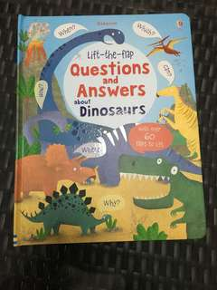 Usborne - questions & answers about dinosaurs