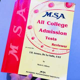 MSA reviewer