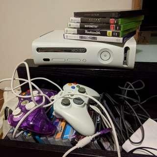 Xbox360 + games
