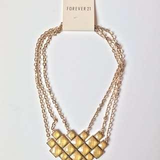 NEW FOREVER21 Hexa Necklace