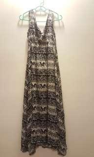 Tribal Black & White dress