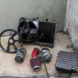Budget spare part toyota corolla seg and le