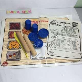 Mixed play doh clay tools #04