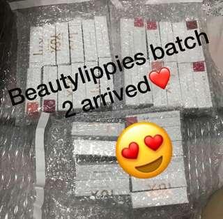 BATCH 2 lux lipstick arrived❤️🌸! COLOURPOP BEAUTYLIPPIES