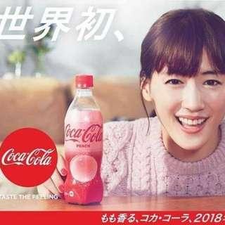 🚚 日本期間限定水蜜桃可口可樂