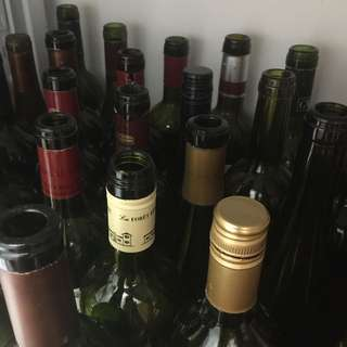 Empty Wine & Champagne Bottles for Sale | Moving clearance