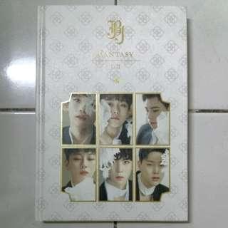 JBJ Fantasy Ver; I-II Album + CD and PHOTOCARD only