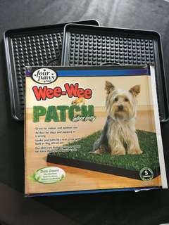 Four Paws Wee-Wee Patch Indoor Potty - 2 trays only