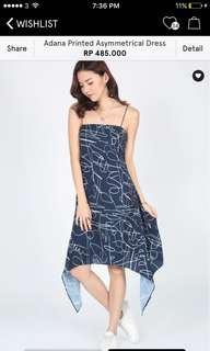 ASYMMETRICAL DRESS by LOVE BONITO