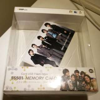 NEW SS501 Card USB購自韓國