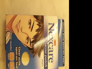 3M Nexcare acne patch for men