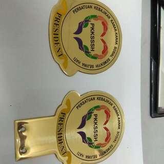 Custom Pkkssh Emblem