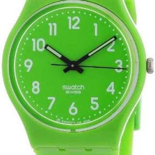 Swatch Apple Green Watch