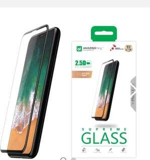 AT iPhone X 全覆蓋綱化玻璃貼(Extra Hard)