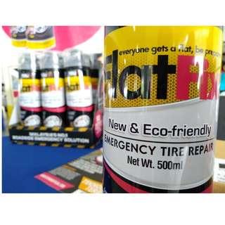 Flatfix: Emergency Tyre Sealant (Penampal tayar bocor / pancit)