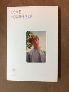 BTS Love Yourself JK小卡 連專 全齊