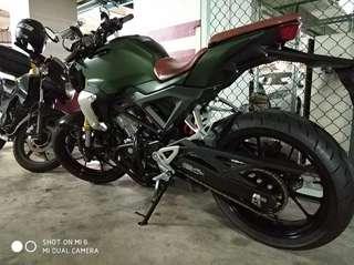 Honda CB150R Crash Bar